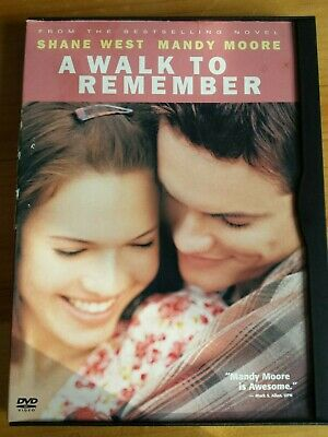 A Walk to Remember (DVD, 2009, Canadian English, French) Movie Film Flick Moore
