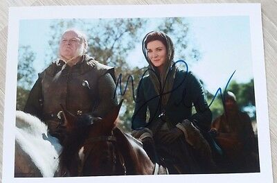 Autograph Michelle Fairley as Catelyn HAND SIGNED COA UACC 8x10 Game of Thrones