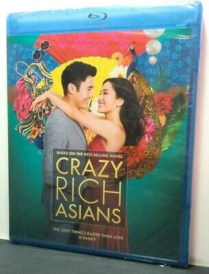 CRAZY RICH ASIANS (Blu-ray + DVD) 2-Disc Set >NEW<