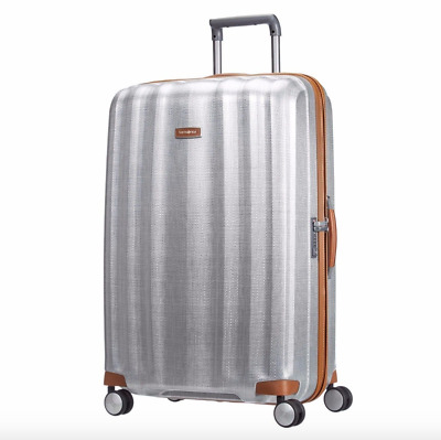 "SAMSONITE - Black Label Lite Cube DLX 31"" Spinner Suitcase Aluminum - NEW"