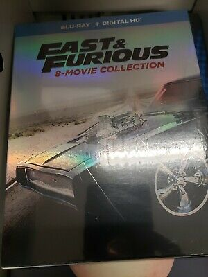 Fast and Furious: 8-Movie Collection (Blu-ray Disc, 9-Disc Set)