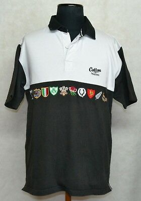 Rugby Shirt Polo Jersey Camiseta Trikot Rare Vintage Nations