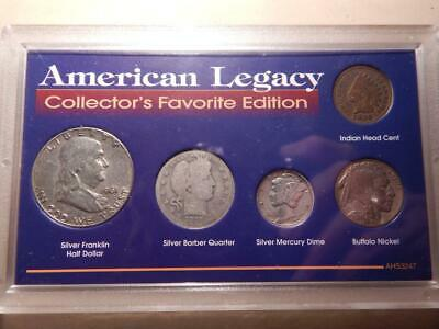 American Legacy Silver Collector's Favorite Edition Coin Collection
