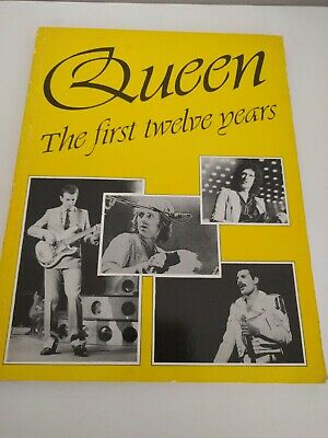 Queen Freddie Mercury the first twelve years By Mike West 1984 Rare Book