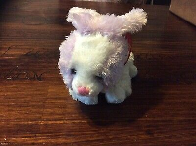 Ty Beanie Babies Sherbet Purple White Bunny Rabbit Easter