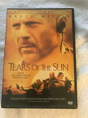 """Tears of the Sun     """"DVD""""   free shipping  121"""