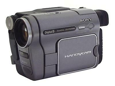 Sony Handycam DCR-TRV270E Digital8 Camcorder - Digital Video Camera Recorder