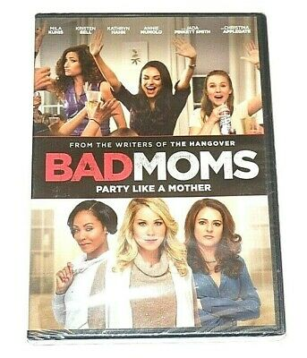 Bad Moms Widescreen DVD Mila Kunis, Kristen Bell, Kathryn Hahn NEW