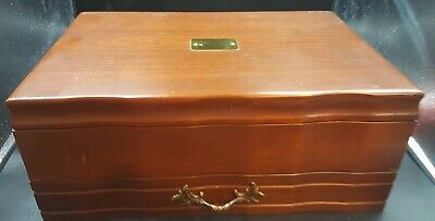 Reed & Barton Provincial Silver Flatware Chest 570