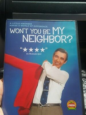 Wont You Be My Neighbor (2018, DVD) brand new