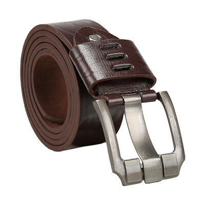 Men Argyle Embossed Metal Pin Buckle PU Leather Dress Belt