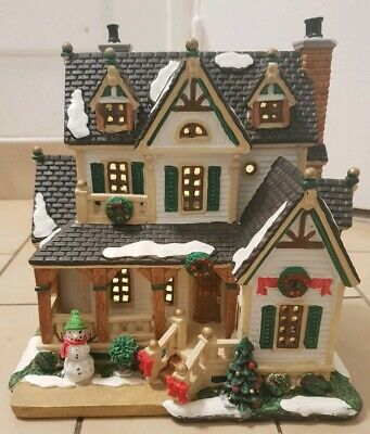 Porcelain Lighted Building LEMAX Westfield Home 45700