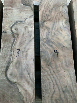Californian claro walnut burr / burl knife handle block / carving block 50mm SQ