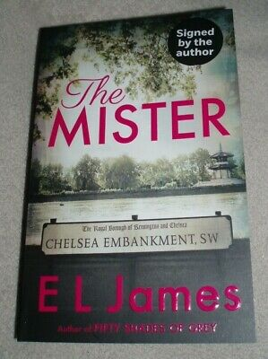 El James Signed The Mister Paperback Book Fifty Shades Pre Order 16/04/2019