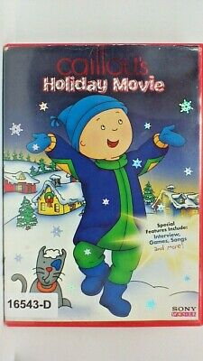 DVD CAILLOU'S HOLIDAY MOVIE in Original Jacket FS. 10