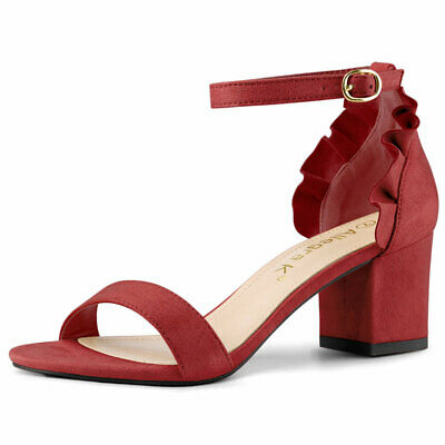 e60c3a5995 ALLEGRA K WOMEN Buckled Strap Plush Quilted Low Wedge Heel Mid-Calf ...