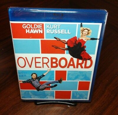 Overboard (Blu-ray Disc,1987)NEW(Sealed)Free Shipping with Tracking