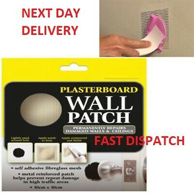 Plaster Repair Patch Damaged Plasterboard Walls & Ceilings Hamil Branded Product