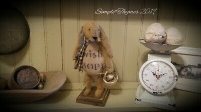 Primitive Standing Spring Thyme Rabbit~Easter~Bunny
