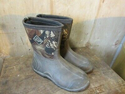 Muck Boots FieldBlazer Boots Mossy Oak Camo Size 7 Kids / Mens **Low Price**