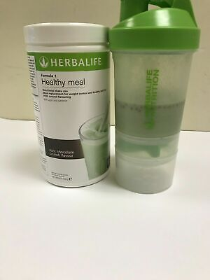 Herbalife Nutrition Formula 1 Shake Meal Replacement Mint Chocolate Crunch 550g
