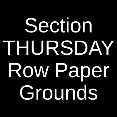 2 Tickets 2019 Masters Golf Tournament - Thursday Competition 4/11/19