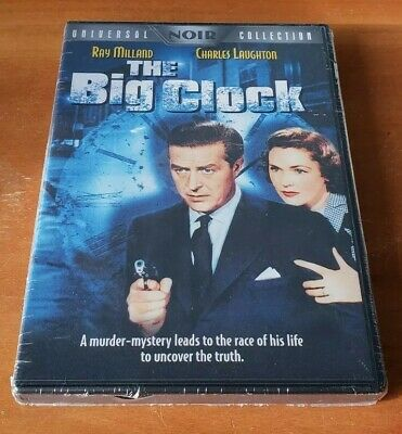 The Big Clock (DVD, 2004, Universal Noir Collection) classic 1948 movie film NEW