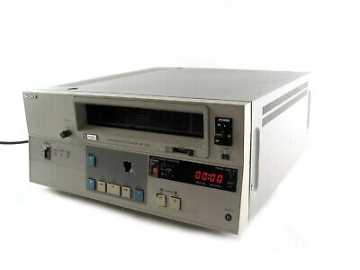 "Sony VP-7020 3/4"" U-matic Videocassette Player VP7020 Video Cassette Umatic"