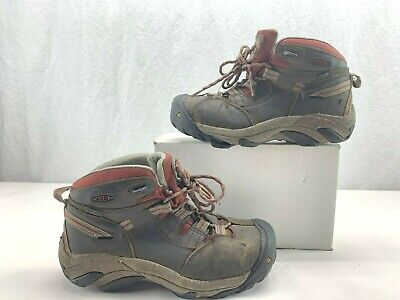 13901ad8e16 KEEN Utility 1007014 Women's Detroit Mid Steel Toe WP EH Work Boot Size ...