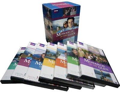 MONARCH OF THE GLEN: The Complete Collection (DVD, 2010, 18-Disc Set) Brand NEW