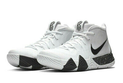 35275589a59c Nike Kyrie 4 TB TUXEDO BLACK WHITE OREO COOKIES   CREAM AV2296-100 Irving