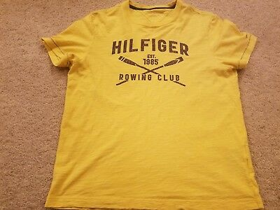 e0cb1d6d Tommy Hilfiger Rowing Club T-Shirt Shirt polo sport Nautica Competition  vintage