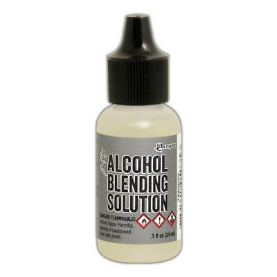 Tim Holtz Ranger 'ALCOHOL BLENDING SOLUTION' 14ml - Lighten & Blend Alcohol Inks