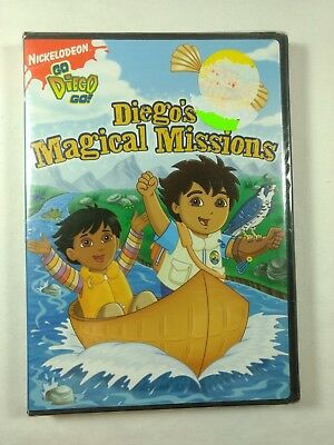 Go, Diego Go: Diegos Magical Missions (DVD, 2008) Brand NEW / Sealed