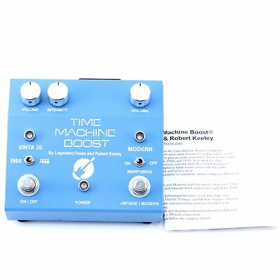 Keeley Time Machine Boost Guitar Effects Pedal P-07433
