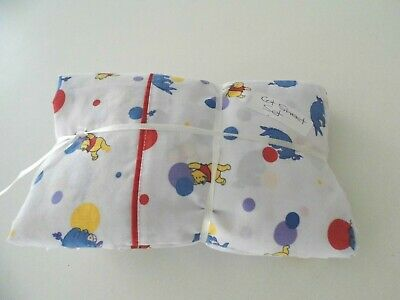 Pooh Bear Fitted & Flat Cot Sheets