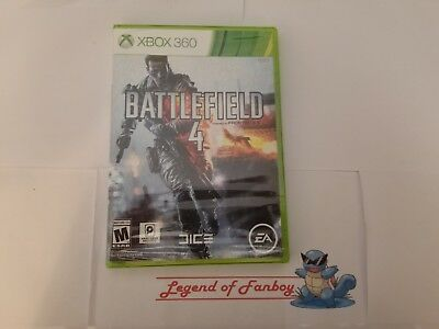* New *  Battlefield 4 - Microsoft Xbox 360  * Sealed Game *