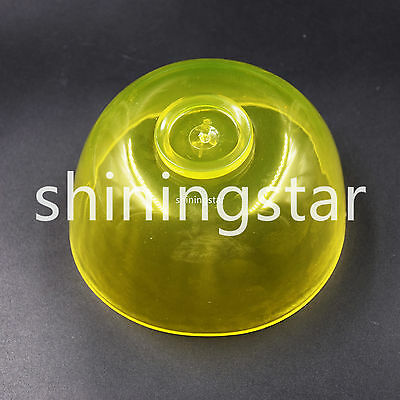 Dental Lab Flexible Rubber Mixing Alginate Bowl Impression Material Yellow 10 cm
