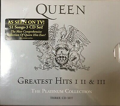 QUEEN-{The Platinum Collection: GREATEST HITS I II &  III!} [3 CD BOXED SET] NEW