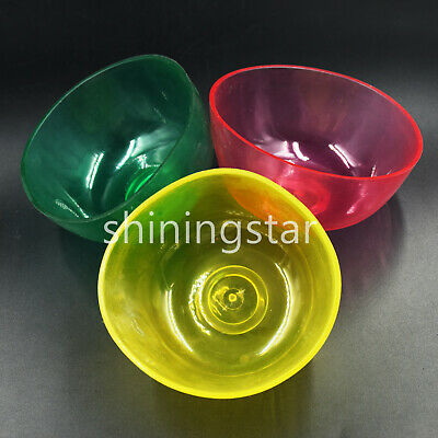Dental Nonstick Flexible Rubber Impression Mixing Alginate Bowl 10cm 3 Colors