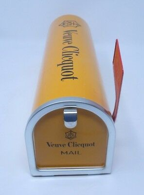 Veuve Clicquot Mail Box Tin Case Champagne Holder