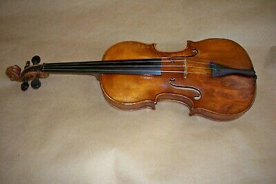 Antique Dated 1762 Micael Deconet 3/4 Violin Repaired By Ed Smith