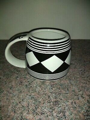 The Treasure Chest #20 Mug Cup Southwest Pottery 1998 Geometric Aztec man handle