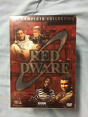 Red Dwarf The Complete Series Collection DVD 18-Disc Gift Box Set 1-8 - NEW