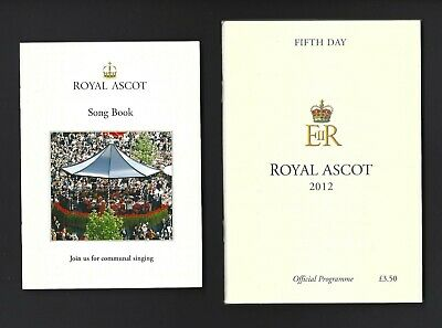 2012 Black Caviar Royal Ascot Racebook Mint condition + The Songbook of the day