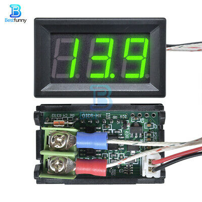 Green Digital LED Diaplay Thermometer K-type M6 Thermocouple XH-B310 DC 12V