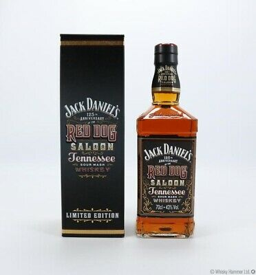 Jack Daniels 125th Anniversary Red Dog Saloon Whiskey 700mL - Gift Boxed