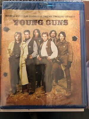 Young Guns (Blu-ray, 2018) NEW, Emilio Estevez, Sutherland