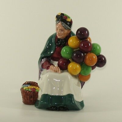 Royal Doulton Character Figure Old Balloon Seller Hn 1315