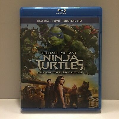 TMNT Out of the Shadows Blu-Ray Only (No DVD or Digital Download Included)